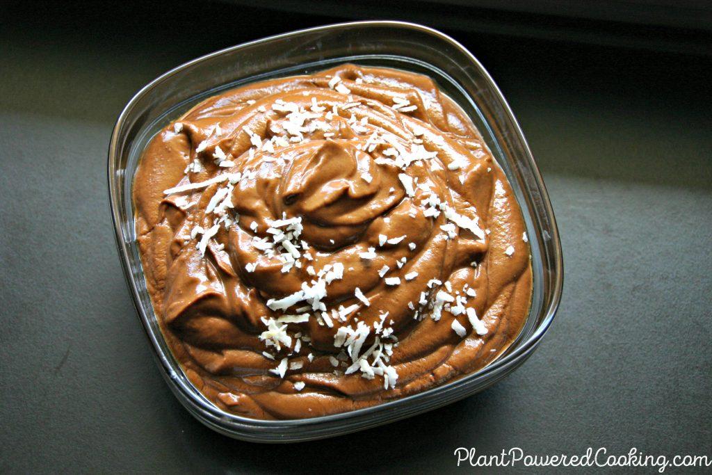 Full Bowl of Chocolate Pudding. Yum!